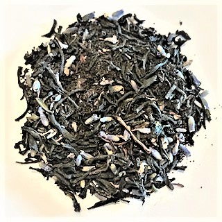 Black Lace - organic Assam with Lavender flowers