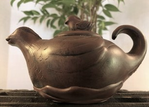 Yixing / Zisha Tea Pot - Ducks and Duckie
