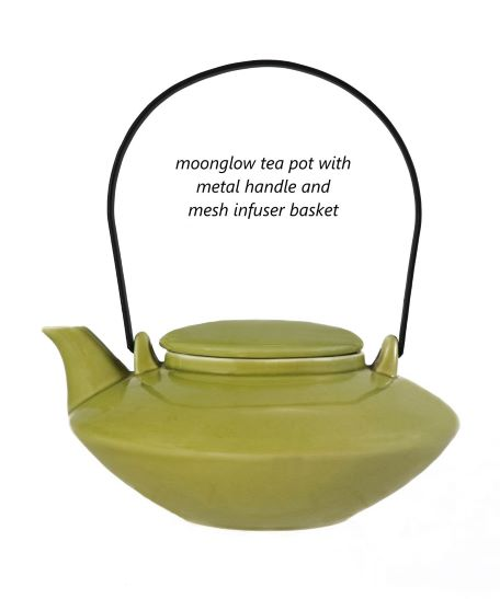 Moonglow Teapot with Infuser
